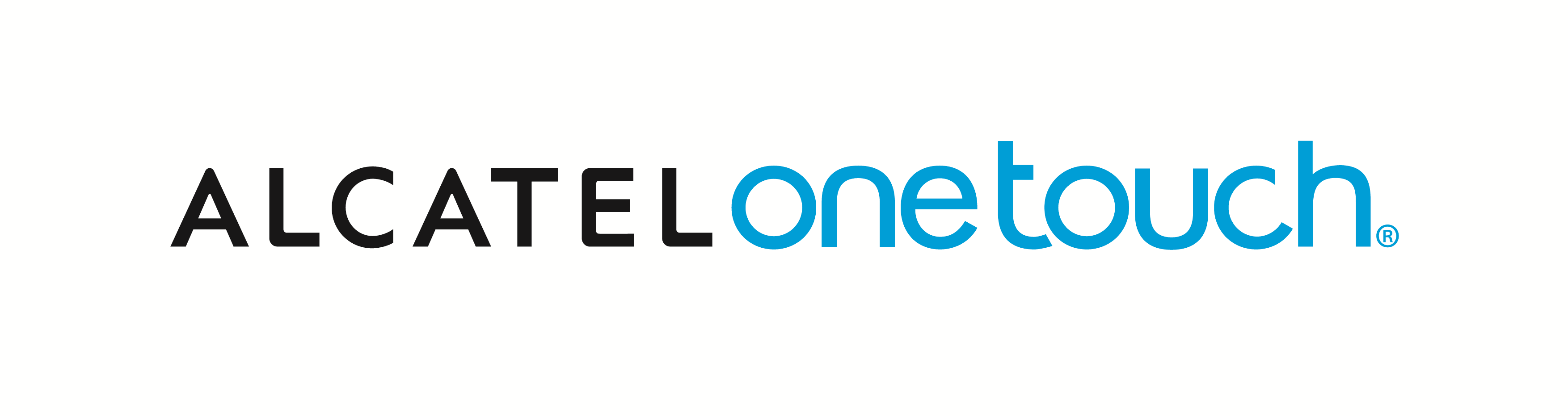 ALCATEL ONE TOUCH LOGO colors